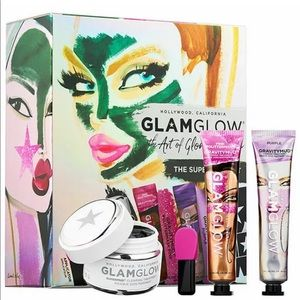 GLAMGLOW The Art Of Glowing Skin Superstar Set NEW